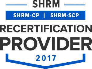 SHRM Recertification Provider Badge
