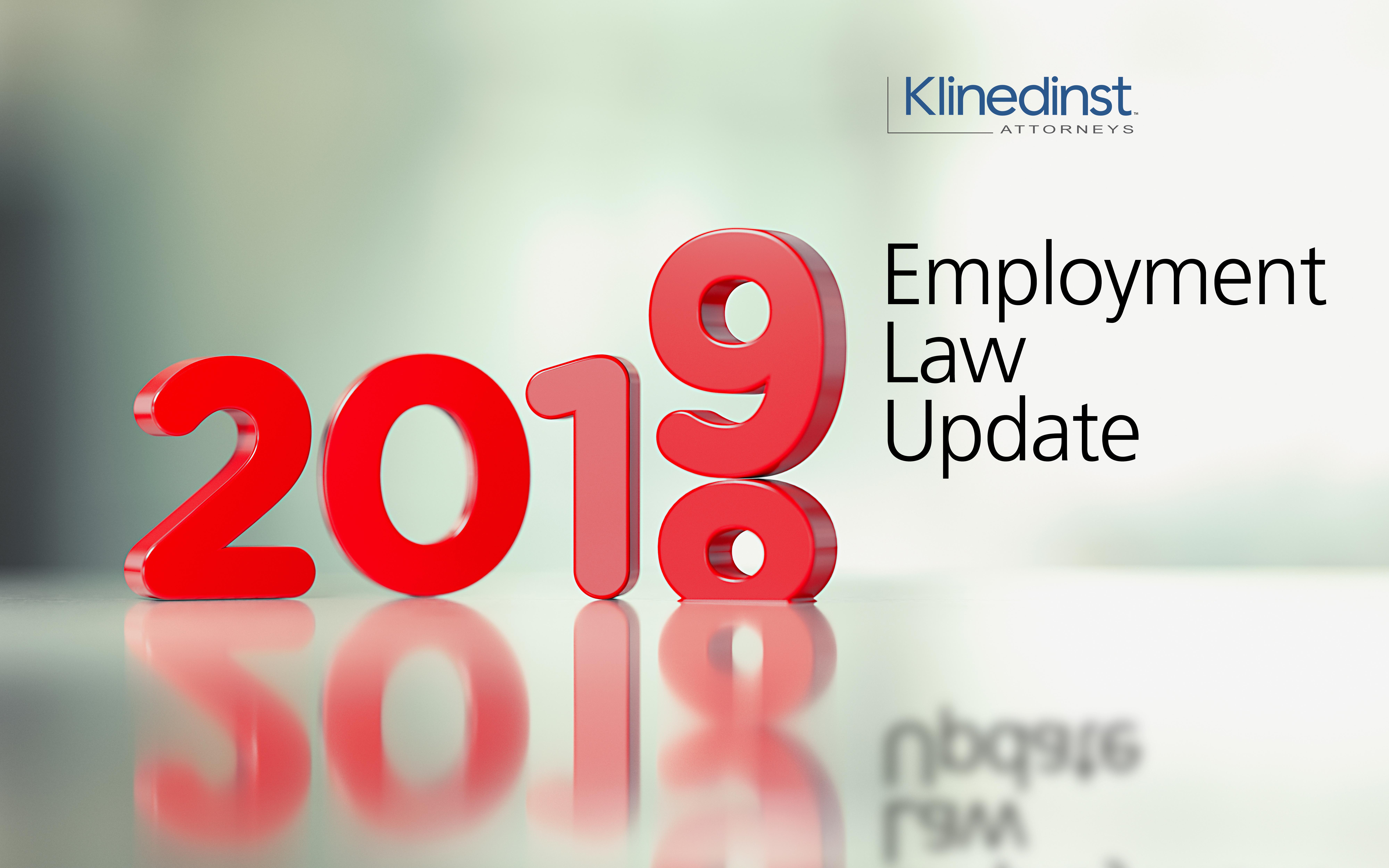 2019 Employment Webinar